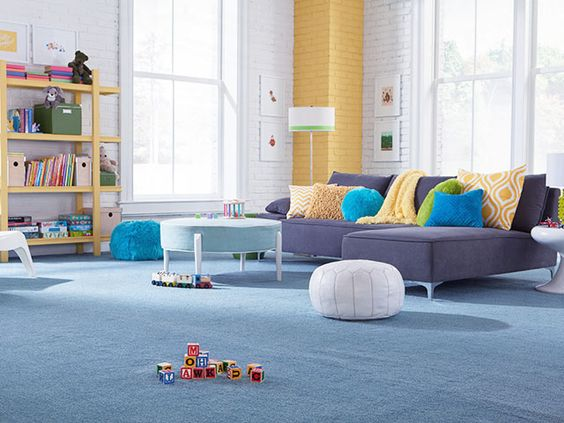 Mohawk Color Trends: Blues Blue shades reign as the top non-neutral color family. Indigo and navy shades can anchor a setting and make excellent flooring choices.