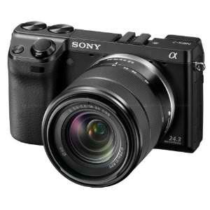 The Sony Alpha NEX-7 with 18-55mm lens available at www.uniquephoto.com