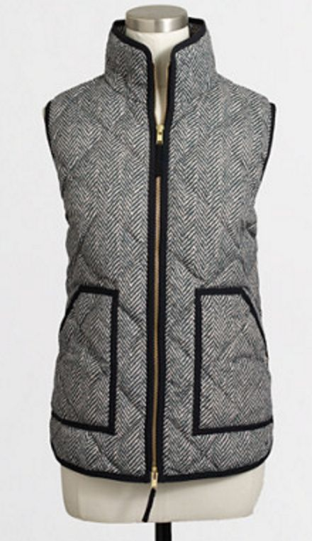 Love this puffer vest!