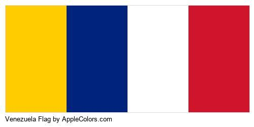 Venezuela Flag Brand In 2020 Blue And Yellow Flag Venezuela Flag Brand Palette
