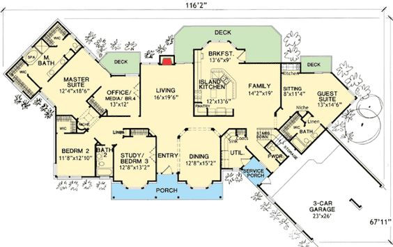 House Plans Guest Suite And Photo Galleries On Pinterest