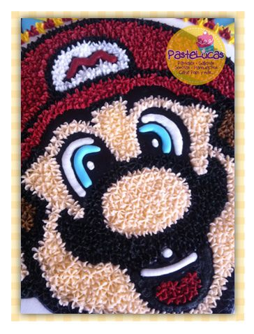 Mario bros cake: