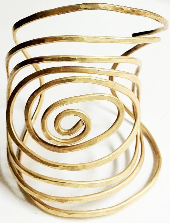 Cuff | Melanie Rhodes.  Melanie is inspired by Modernist and post Modern styles.