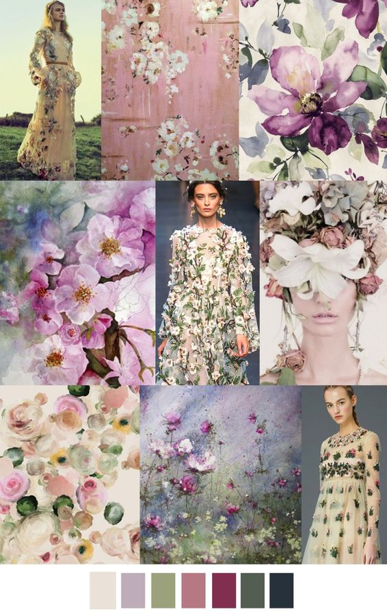It must be spring because I am craving florals and pink