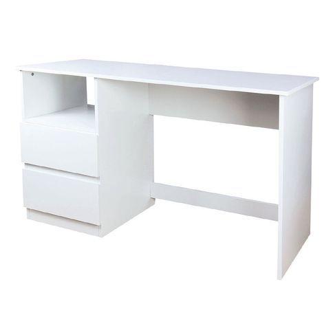 Living Co Toledo Storage Desk White White Desks Desk Storage Desk