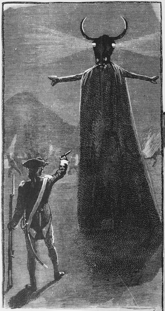 'The Hindu's Prophecy' Illustration for the Boys Own Paper, November 25th 1899 by Alfred Pearse.