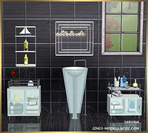 Sims 3 finds bathroom set at sims 3 models sims for Bathroom ideas sims 3