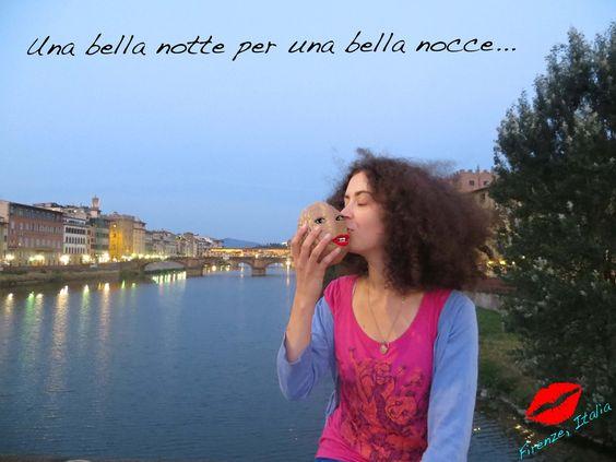 La voici à Florence en Italie !