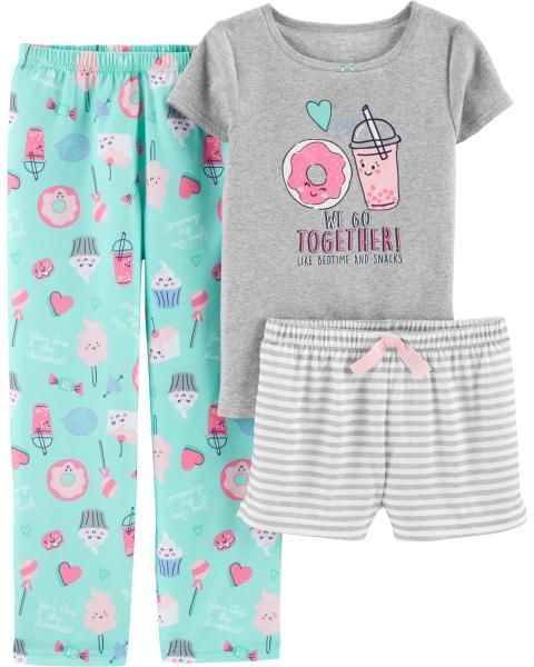 Dino Gray 6 M Carters 4 Piece PJ Set Toddler//Kid