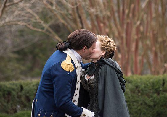 TURN: Benedict Arnold (Owain Yeoman) and Peggy Shippen (Ksenia Solo) in Ep 2.09 | Photo by Antony Platt/AMC