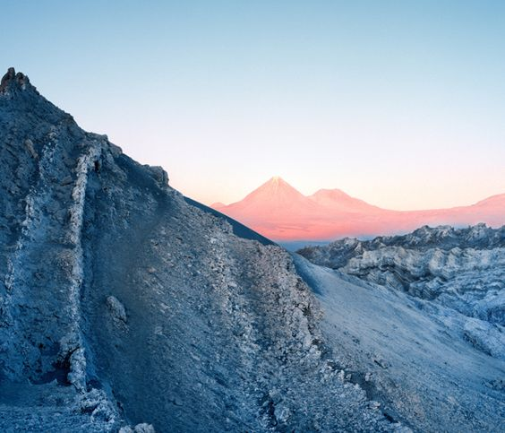 Atacama Desert in Chile | by Reuben Wu, via Behance