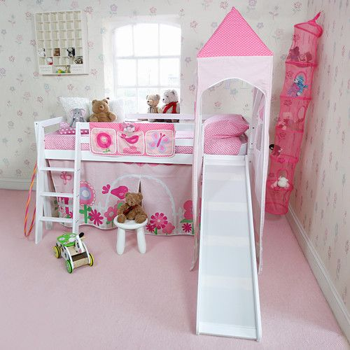 Details About Mid Sleeper With Slide And Accessories