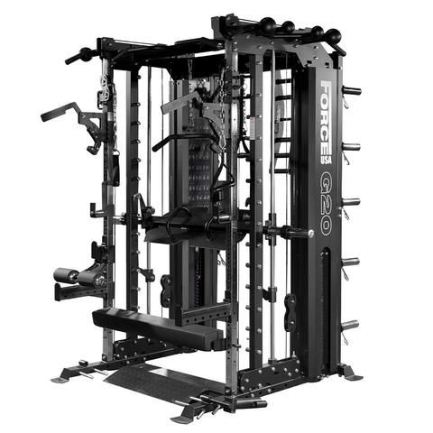 Force Usa G12 All In One Trainer Smith Machine Power Rack Pull Up Station