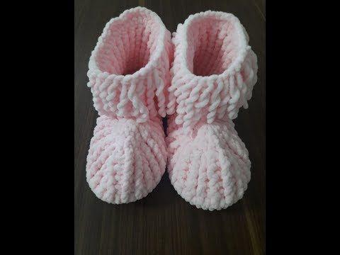 Tığ İşi Sandalet Yapımı 1 - Mimuu.com | 360x480