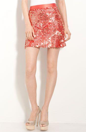 Alice + Olivia Sequin Miniskirt <3