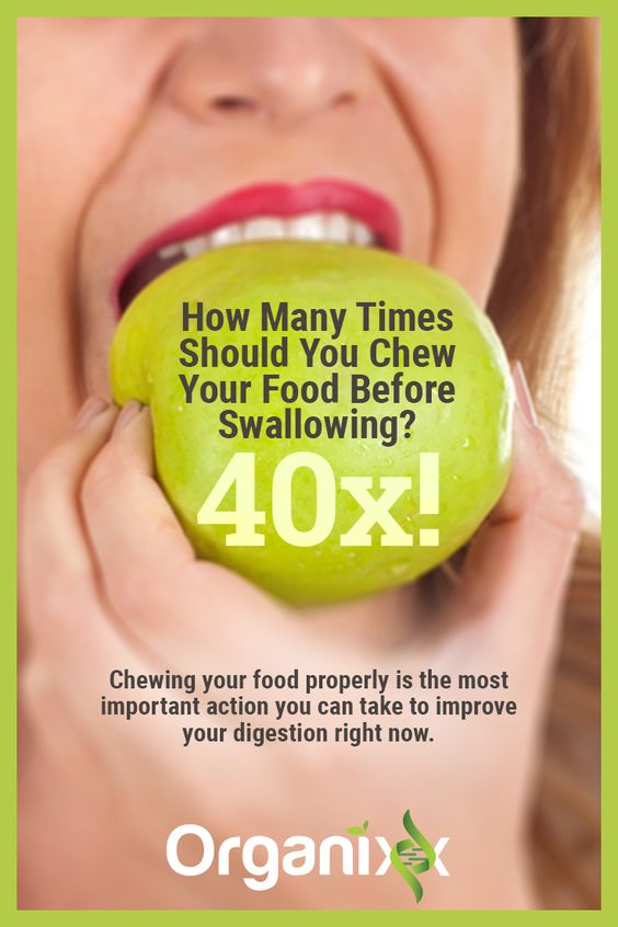 Did you know that how many times you chew your food has an impact on your health? Click the picture to learn more about how you can take care of your digestive system.