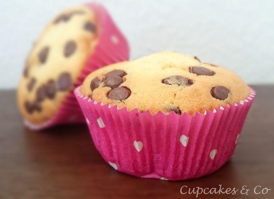 Vanille-Schoko-Muffins
