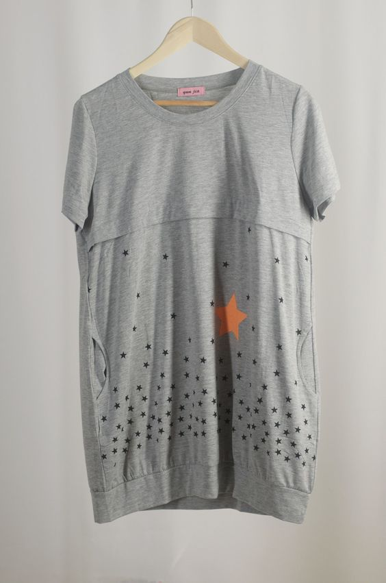 Sample - Shirt Grey with Star