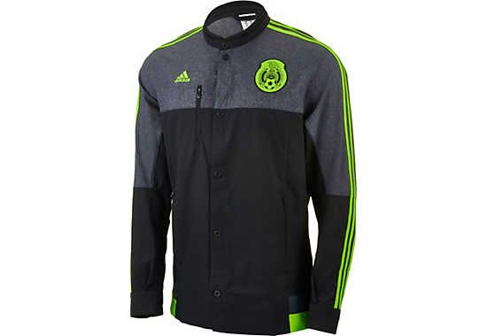 adidas Mexico Anthem Jacket - Black and Green...fresh at www ...
