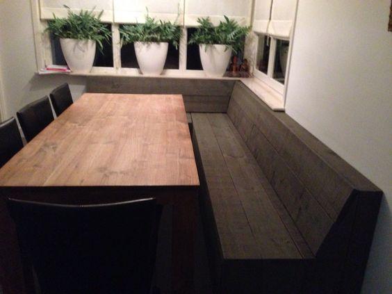 Eetkamerbank Steigerhout: Nu zijn de meubels en interieur accessoires ...