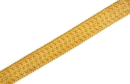 Tiffany Textured Gold Bracelet