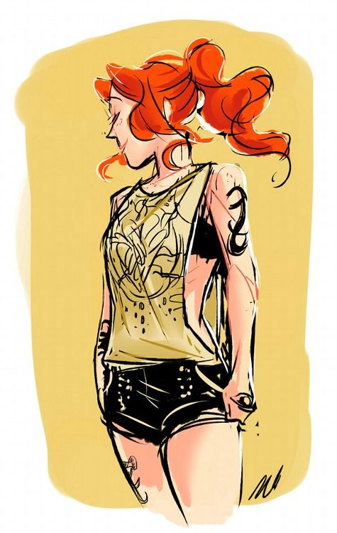 Hell yeah. A sexy Clary. And cute at the same time. How is she doing that?