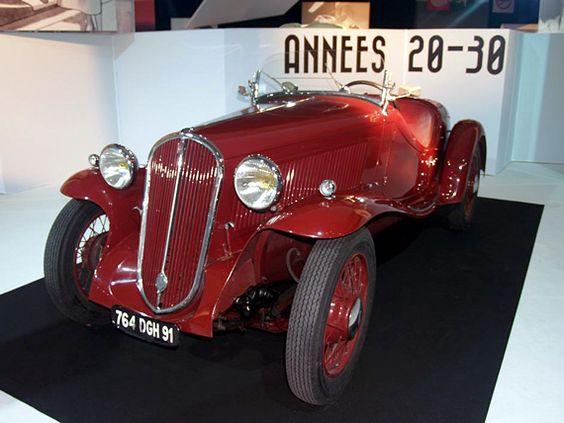 Fiat 508S Balilla Coppa d'oro 1935