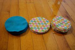 Mommy DIY: Nursing Pads | diary of a bewildered mother