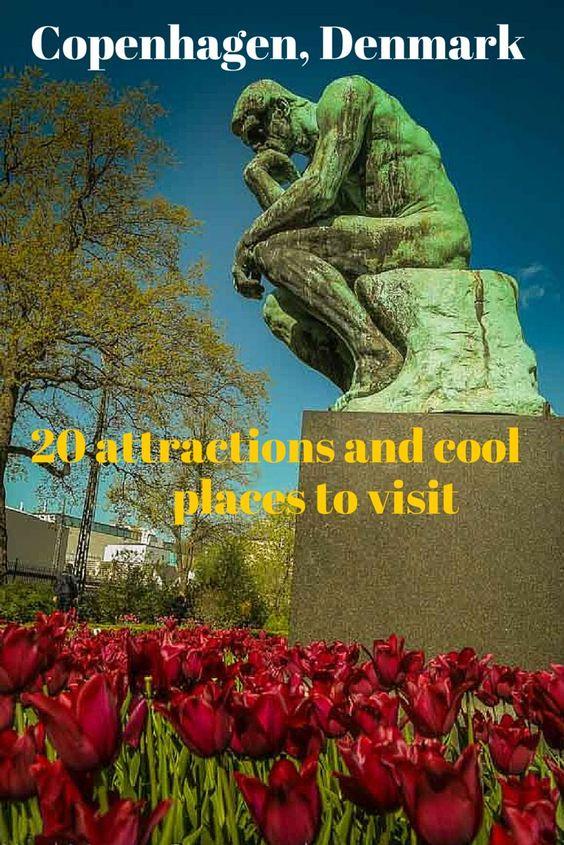 Top attractions, landmarks,  cool places and fun neighborhoods to visit in Copenhagen, Denmark http://travelphotodiscovery.com/20-top-attractions-in-copenhagen/
