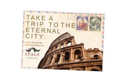 Italy Travel Flyer