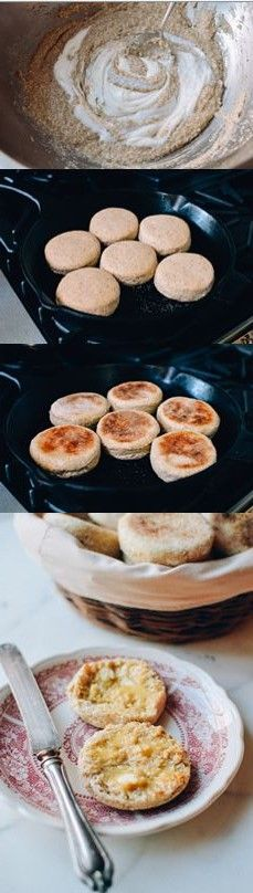 Homemade Multigrain English Muffins, choose your grains, no ...