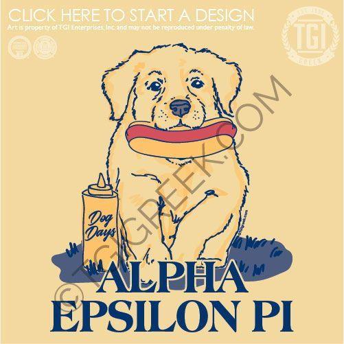 Alpha Epsilon Pi Dog Days Puppy Aep Tgi Greek Custom
