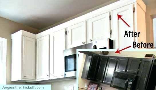Kitchen Cabinet Door Trim Ideas Kitchen Cabinet Molding Kitchen