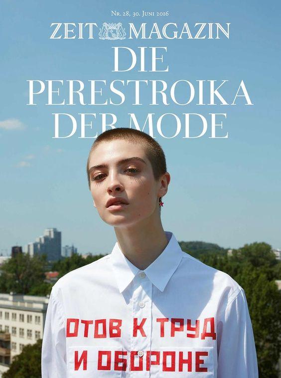 Zeit Magazine - Die Perestroika Der Mode