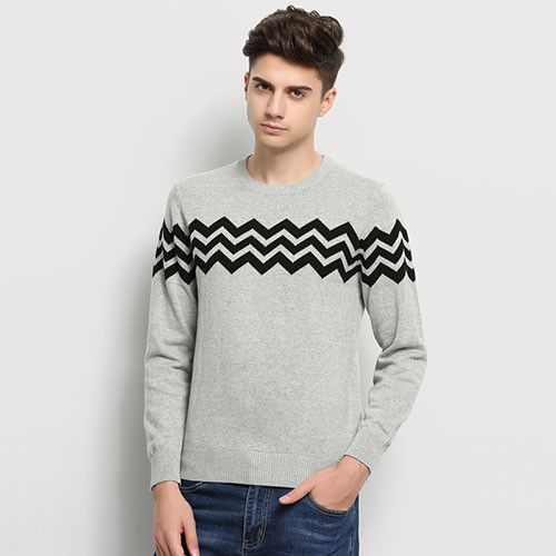 0633fe758 New Autumn Winter Fashion Brand Clothing Men Knitted Sweater O-Neck Slim  Fit Pullover Men
