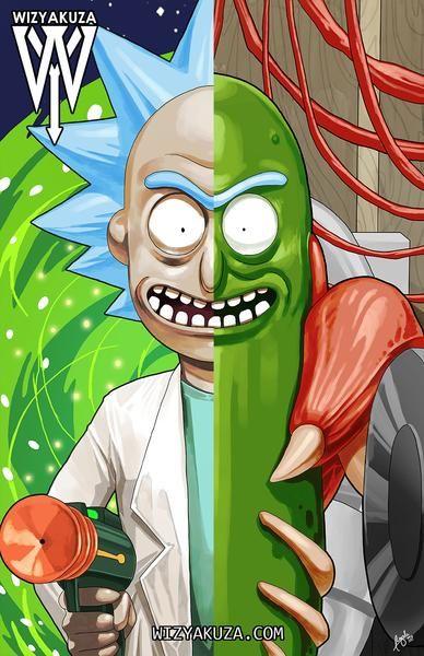 Rick And Morty Pickle Rick Poster Fridge Magnet 3 5 X 2 5 Rick And Morty Poster Rick And Morty Rick I Morty