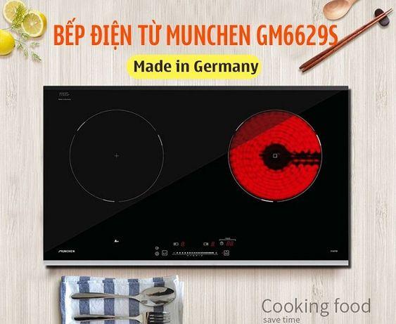 Những lý do nên lựa chọn bếp điện từ Munchen GM 6629S
