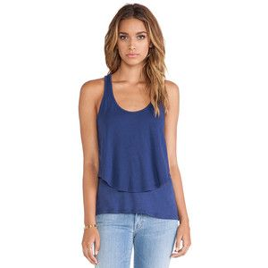 MONROW Cotton Modal Double Crop Tank