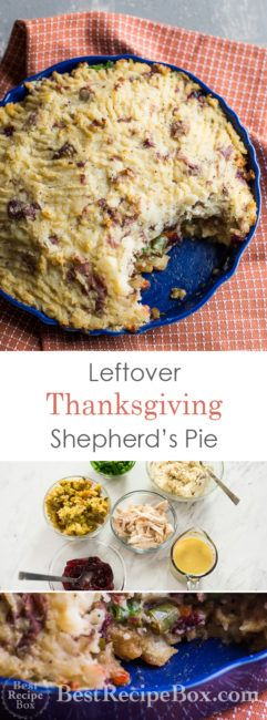Thanksgiving Leftover Shepherds Pie Recipe | @bestrecipebox