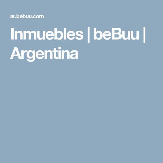Inmuebles | beBuu | Argentina