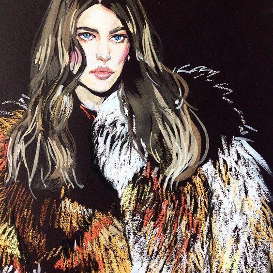 """@maisonirfe #Irfe #fashion #fashionsketch #fashionillustrator…"