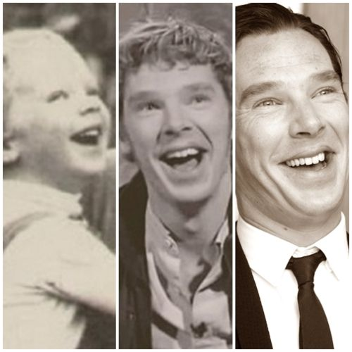 Benedict Timothy Carlton Cumberbatch and his GORGEOUS AMAZING ADORABLE smile :)