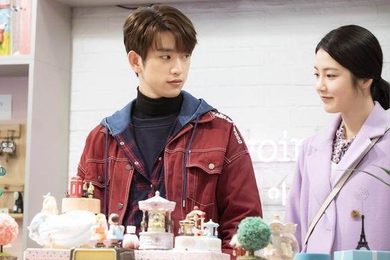 """GOT7's Jinyoung and Shin Ye Eun Enjoy A Heart-Fluttering Date On """"He Is Psychometric"""""""