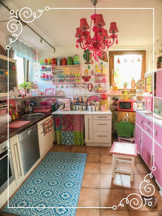 Mein Buntes Zuhause Hakeln Basteln Selbstgemachtes Kreativ Handmade Shabby Chic Kuche Kuche Retro Bunte Kuche