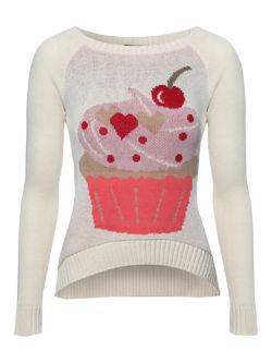 Jane Norman Cupcake Knitted Jumper £25.00