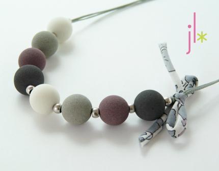 Jolie Lubie - Kit collier Douceur perle.
