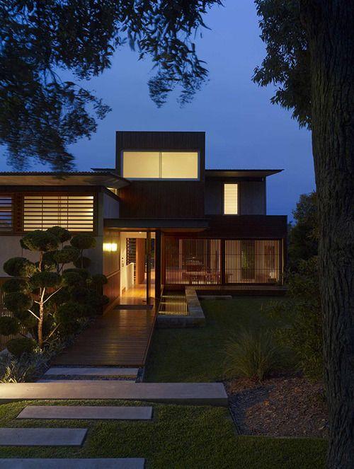 wamberal house | entry ~ virginia kerridge architect