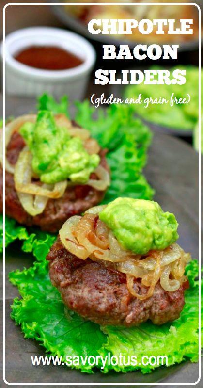 Chipotle Bacon Sliders (gluten and grain free) | Recipe | Chipotle ...