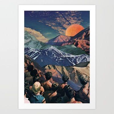 Dawn chorus Art Print by CUR3ES - $16.00