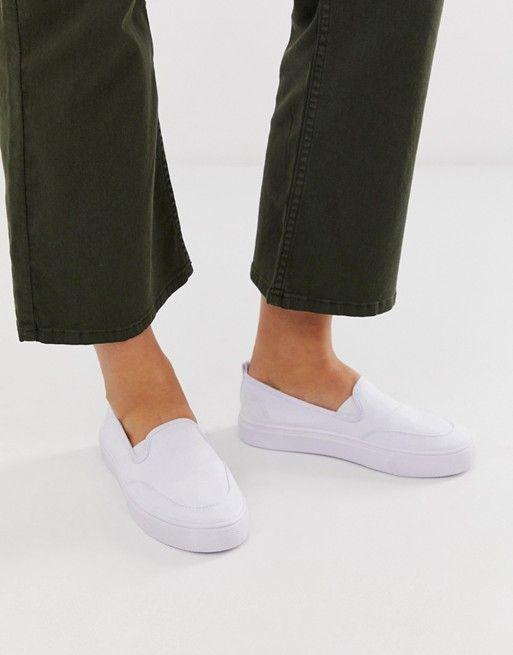 united kingdom crazy price good texture ASOS DESIGN Dexter slip on plimsolls | ASOS | Womens shoes wedges ...